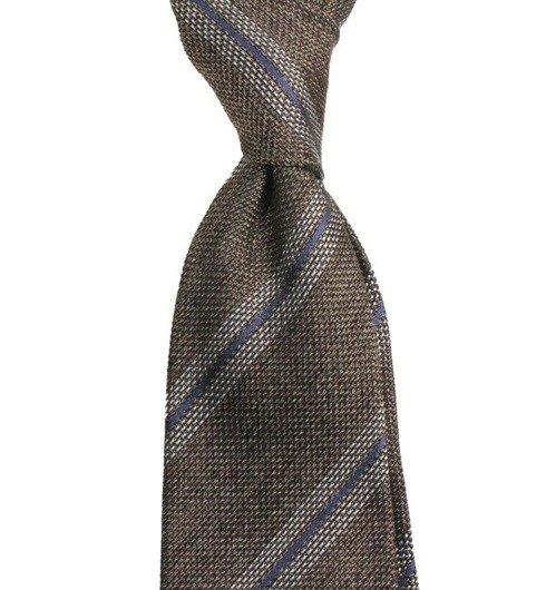 brown grenadine tie