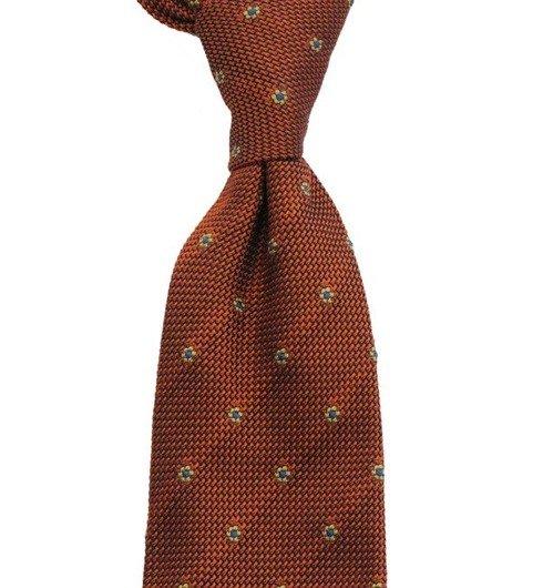 orange grenadine 3-fold tie