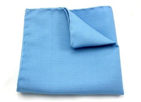 błękitny shantung