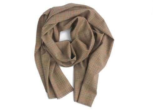 100% cashmere honey scarf