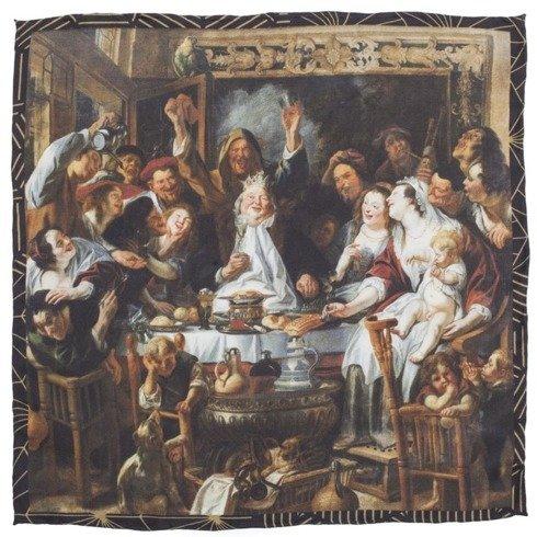 "ARTWORKS COLLECTION Jacob Jordaens ""THE king drinks"""