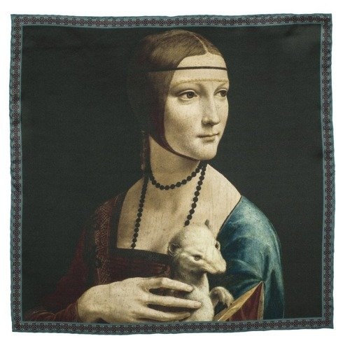 Artworks collection 'Lady with an Ermine' Leonardo da Vinci