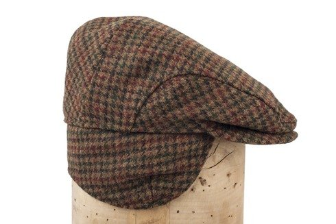 Flat cap English shetland Tweed Abraham Moon
