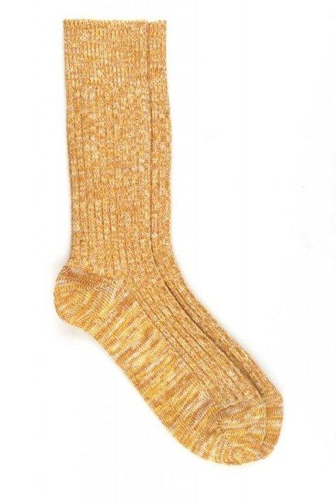 Honey melange socks