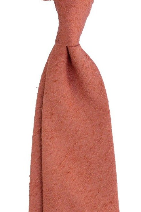 Shantung tie orange