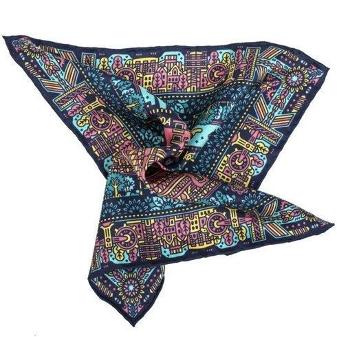 Silk pocket square KATOWICE Jan Kallwejt