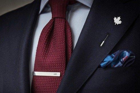 Silver Lapel pin