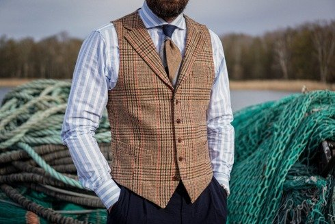 Wool waistcoat