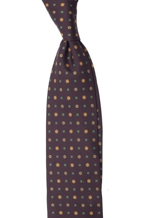 dark burgund Macclesfield tie