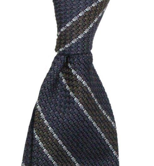 grey grenadine tie