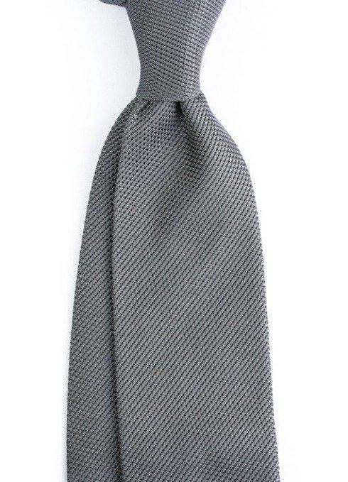 grey grenadine tie (garza fina)