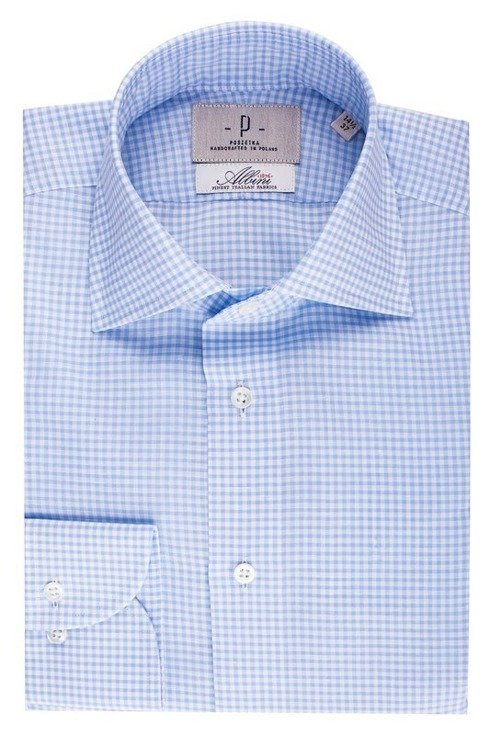linen & cotton bengal shirt