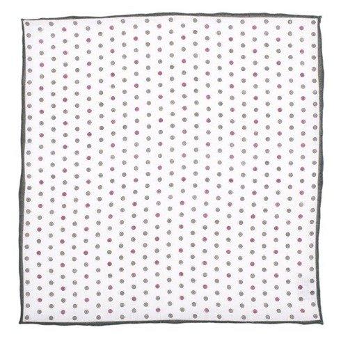 linen pocket square DOTS
