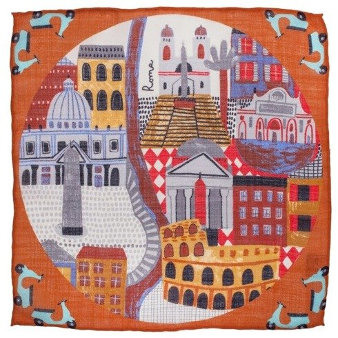 pocket square Rome