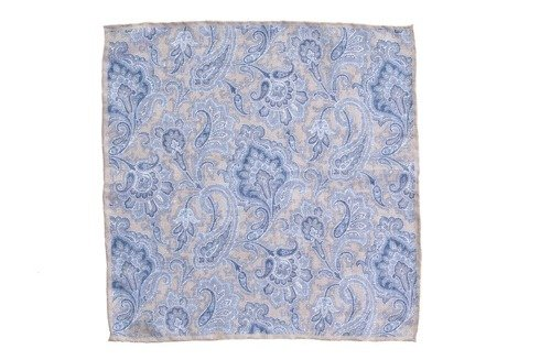 pocket square paisley