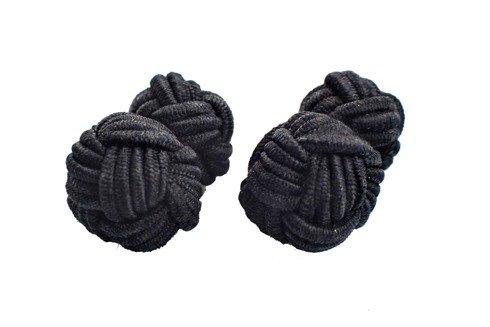 silk knots black