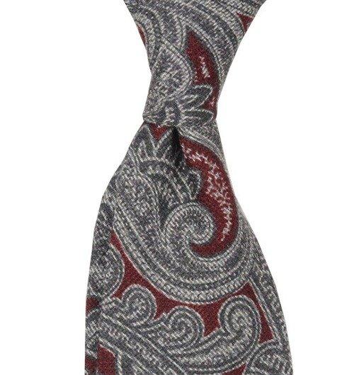 tie wool/silk