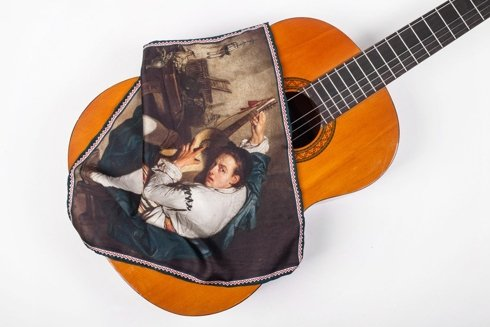 Artworks collection 'The guitar player'