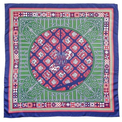 BARCELONA Silk scarf 100 cm Jan Kallwejt