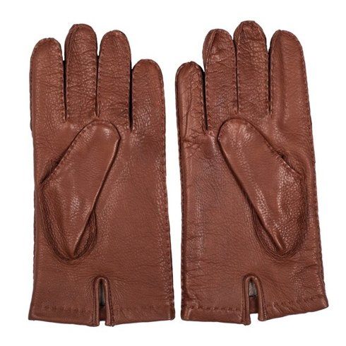 Deer gloves with cashmere winnings