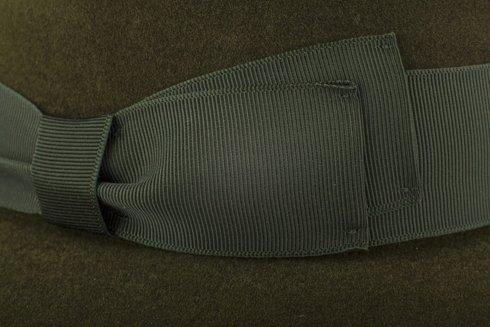 Fedora hat Olive green