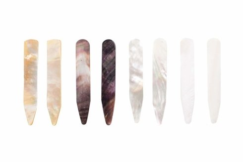Mother Of Pearl Collar Stays