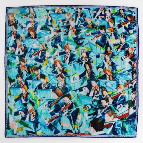 "Pocket square 'Orchestra"""