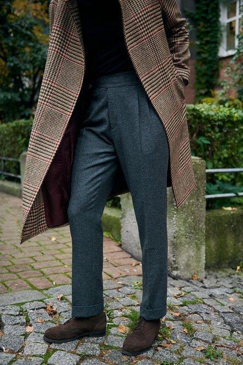Preorder: prince of Wales raglan coat 'Rudolf'