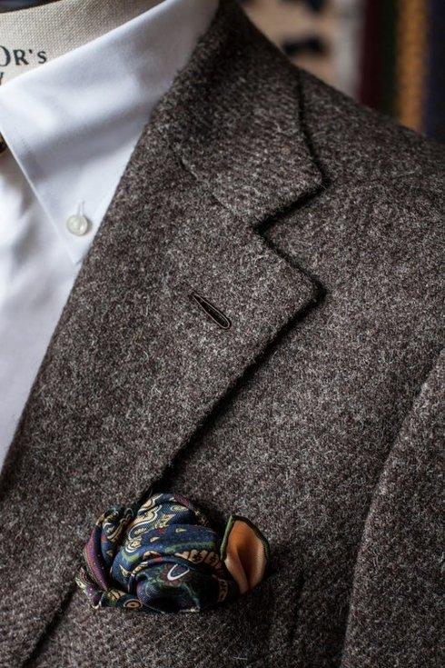 Preorder: undyed 100% tweed suit