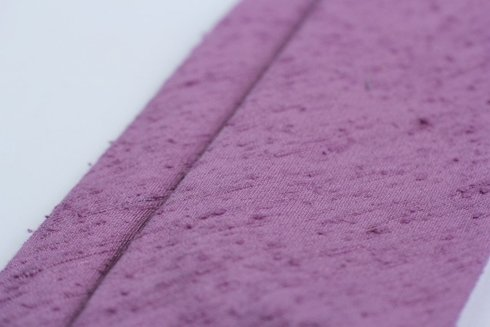 Shantung tie violet