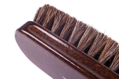 Shoe brush wenge color