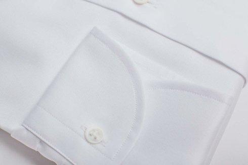 White shirt cutaway