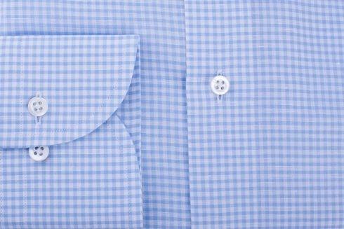 linen & cotton bengal shirt
