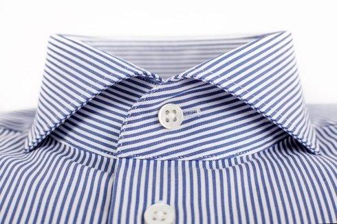navy bengal shirt cutaway