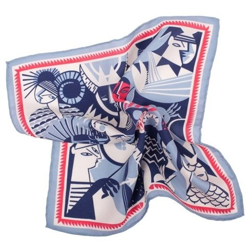 silk pocket square zodiac Libra