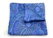 paisley w niebieskich odcieniach
