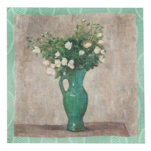 """Apaszka kwiaty """"Makowski"""" 100 cm"""