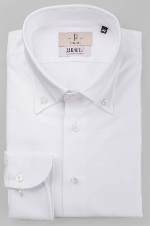 Bawełniana koszula OCBD biała