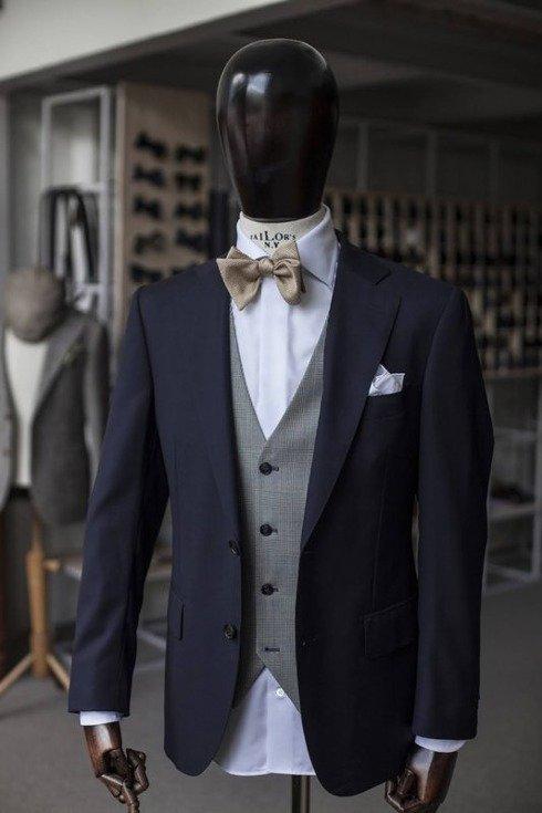 """""""FRED"""" klasyczny garnitur jednorzędowy 100% wełna VBC"""