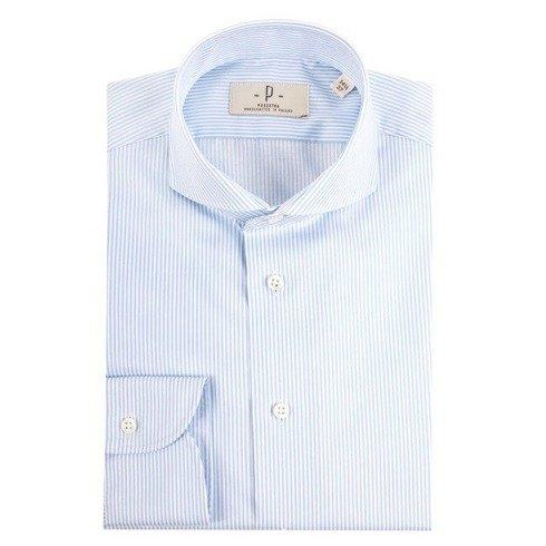 Koszula bengal cutaway błękit