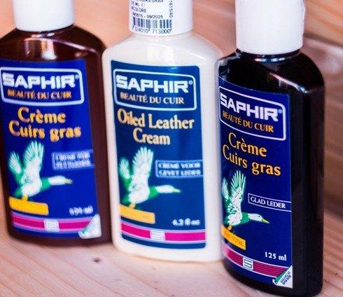 Olej ochronny do skór gładkich, olejowanych i naoliwionego nubuku czarny