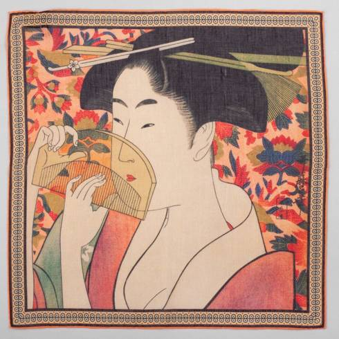 Poszetka kolekcja japońska