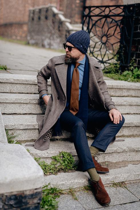 Preorder: dwurzędowy płaszcz raglanowy