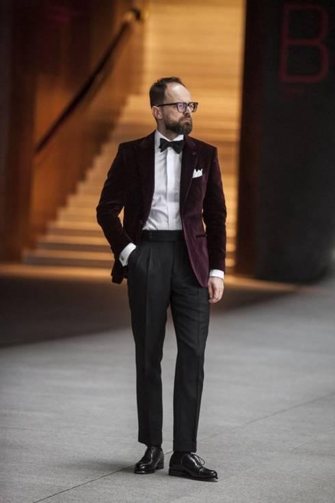 """Spodnie wieczorowe """"Luciano"""". Wysyłka po 20 stycznia."""