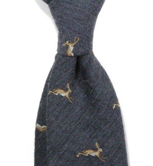 krawat zające