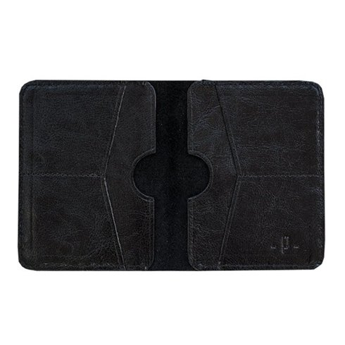 Czarny portfel/Pocket wallet