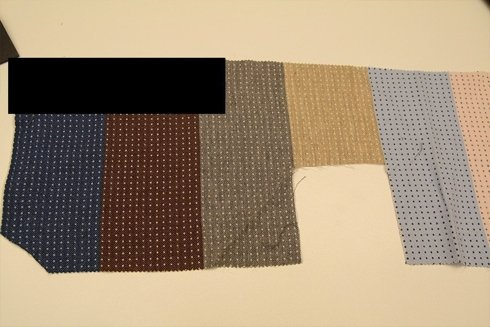 KRAWAT wełniany tkany CLASSIC