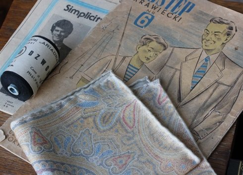 Poszetka vintage