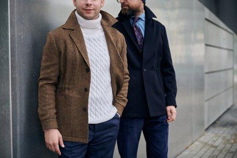 Preorder: urban jacket w jodełkę