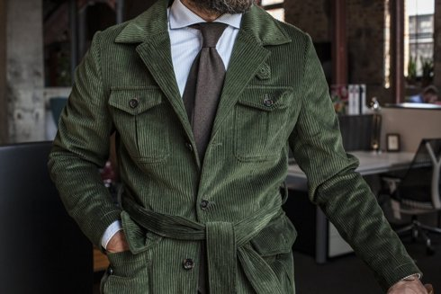 "Safari jacket sztruks ""Artur"""